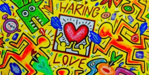 Haring cuore